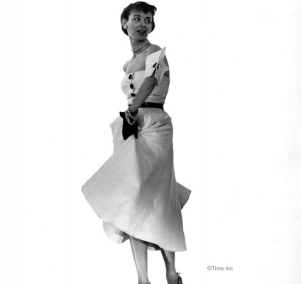Spring-Fashions-1950---Dorien-Leigh-models---photo-Gjon-Mili