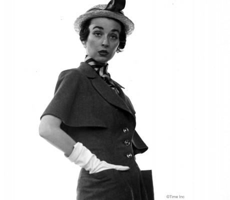 Spring-Fashions-1950---Dorien-Leigh-models---photo-Gjon-Mili-5