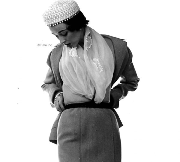 The gamine style of 1950. Model Dorian Leigh