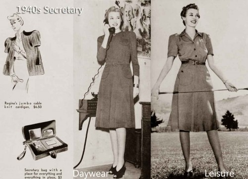 The-Secretary---Daily-Wardrobe-in-1940