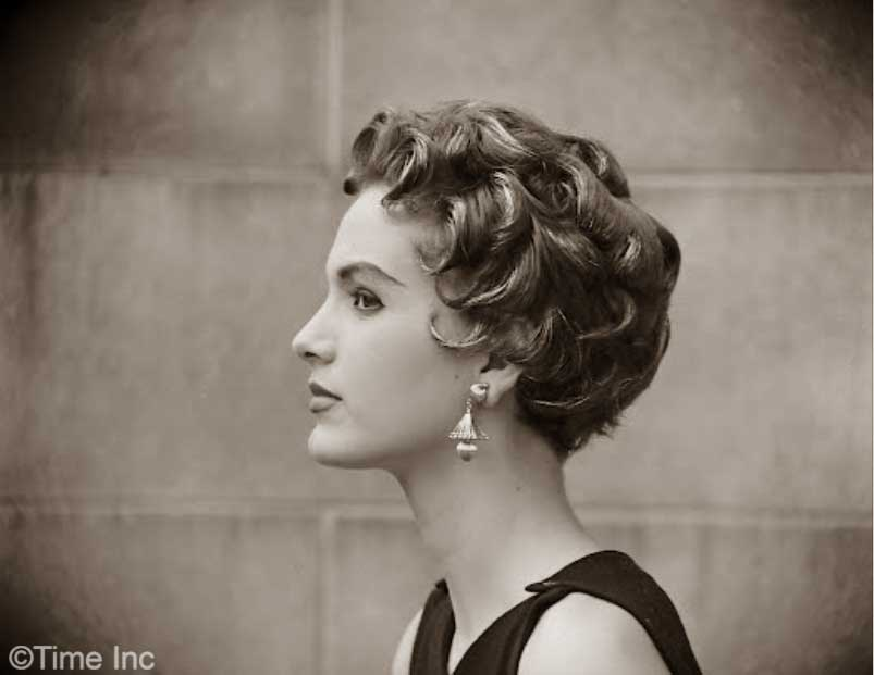Excellent The Italian Cut Hairstyle Craze Of 1953 Glamourdaze Short Hairstyles For Black Women Fulllsitofus