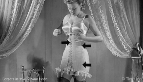 Corsets-1942---Nina-Leen