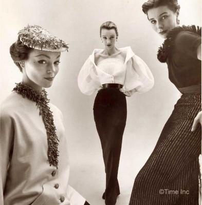 Givenchy---Ivy Nicholson - Sophia Malgat and Bettina - NR-Farbman-Life-Magazine