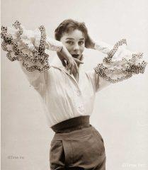 Givenchy---NR-Farbman-Model Bettina - Life Magazine 1952