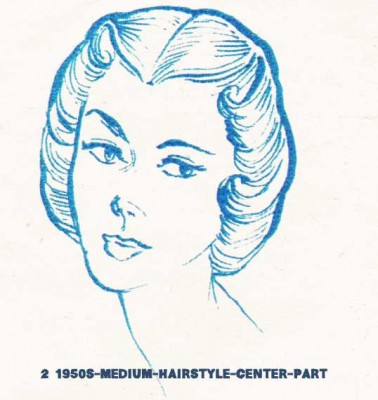 2--1950s-medium-hairstyle-center-part