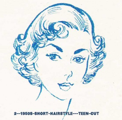 2--1950s-short-hairstyle---teen-cut