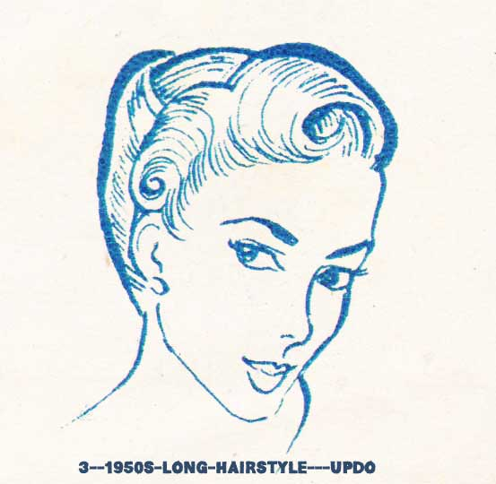 Pleasant 1950S Hairstyles Chart For Your Hair Length Glamourdaze Hairstyles For Women Draintrainus