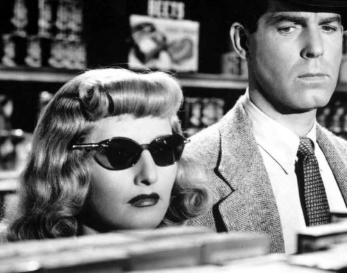 Barbara-Stanwyck---Fred-McMurray-in-Double-Indemnity---film-noir-fashion