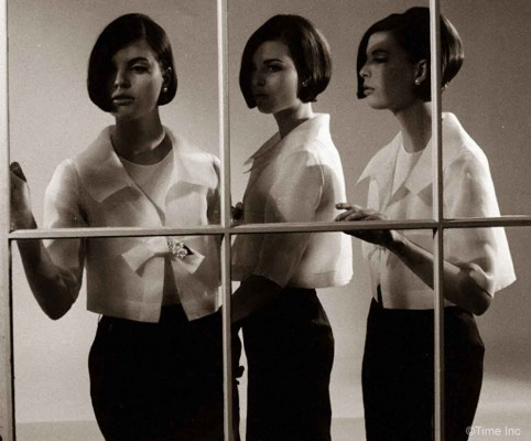 Christina--Katha-and-Megan-Dees---Sassoon-CutTriplets-1964f---Nina-Leen