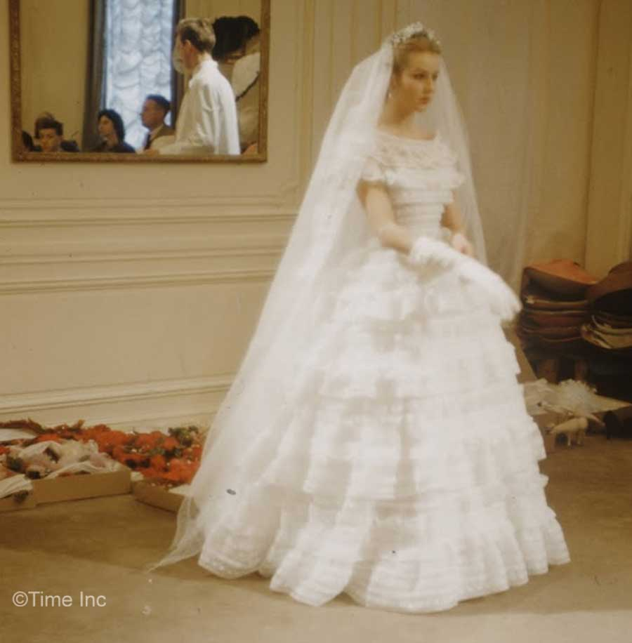 Vintage Wedding Dresses Under 1000: Inside Christian Diors Salon In 1957