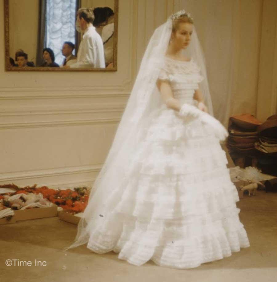 Vintage Chanel Wedding Dress 38 Cool Inside Christian Diors Salon