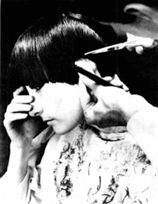 New-York-Model-gets-a-bob-by-Sassoon---1965d