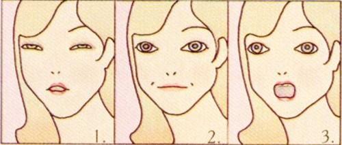 Yardley-1970-makeup--facial-exercises