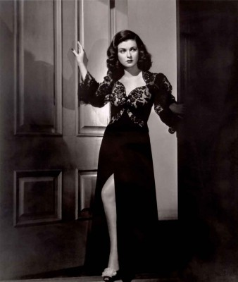 the-woman-in-the-window-joan-bennett - film noir fashion