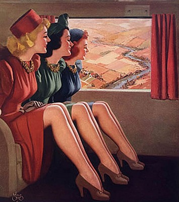 1940s-Wartime-Fashion---Liquid-stockings6