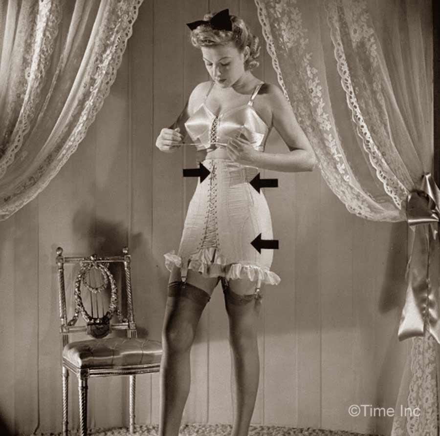 1940s Wartme Fashion Laced Corsets Glamourdaze