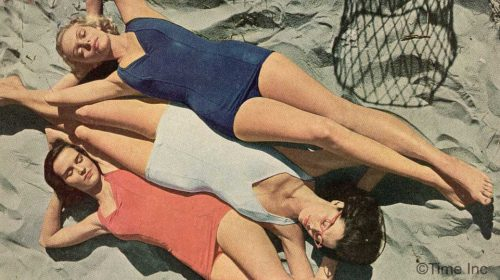 1940s-war-impact-on-swimsuit-fashions---Herbert-Gehr