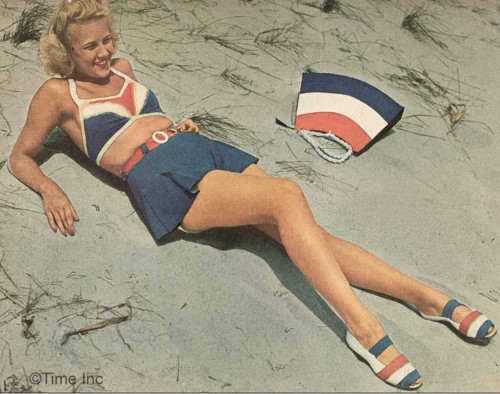 1940s-war-impact-on-swimsuit-fashions---Herbert-Gehr2