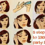 1960s Makeup – Eight Steps to a Party Face
