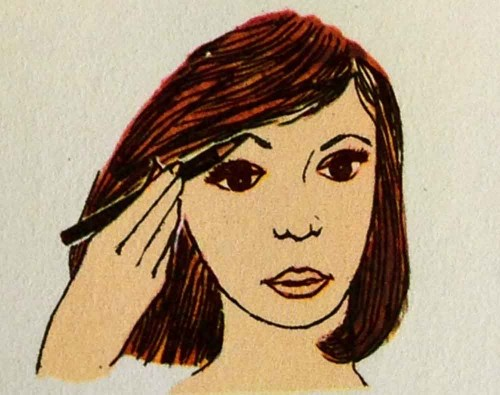 1960s-Makeup---Eight-Steps-to-a-Party-Face