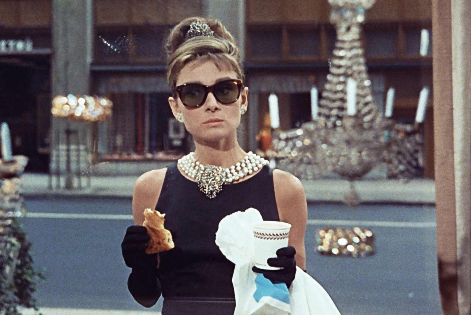 Sunglasses the 20th century 39 s coolest accessory for Breakfast at tiffany s menu