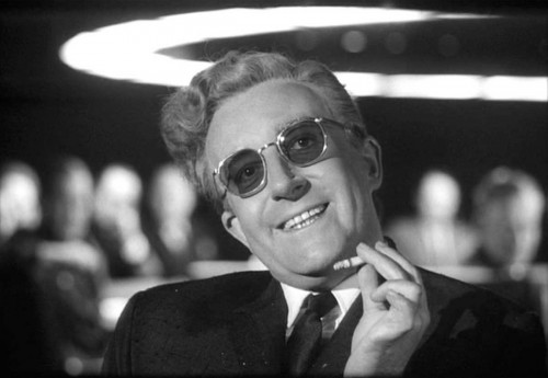 Peter Sellars - Dr Strangelove-sunglasses