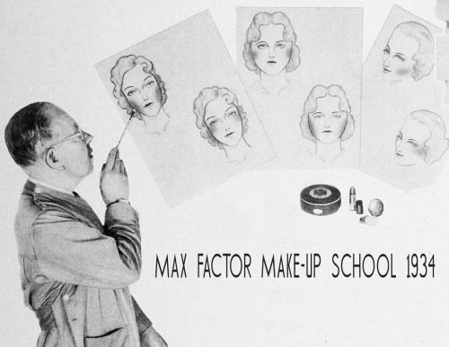 Max-Factor's-School-of-Make-up