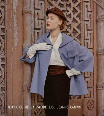 Paris-Spring-fashion--1951---Jeanne-Lanvin