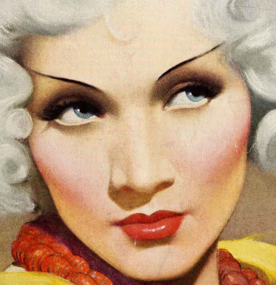 Vintage Makeup School u2013 Eyebrow Tests 1932 : Glamourdaze