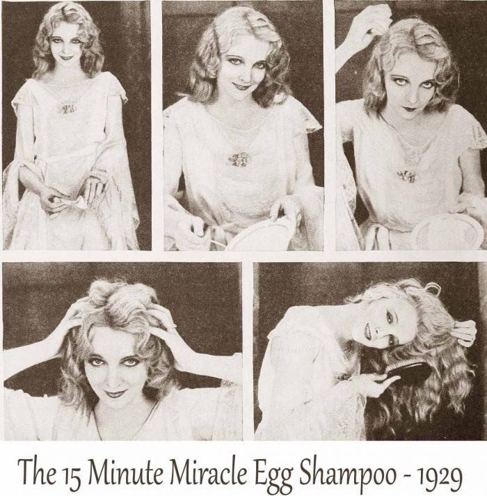 1920's-Beauty-School---15-Minute- EggShampoo