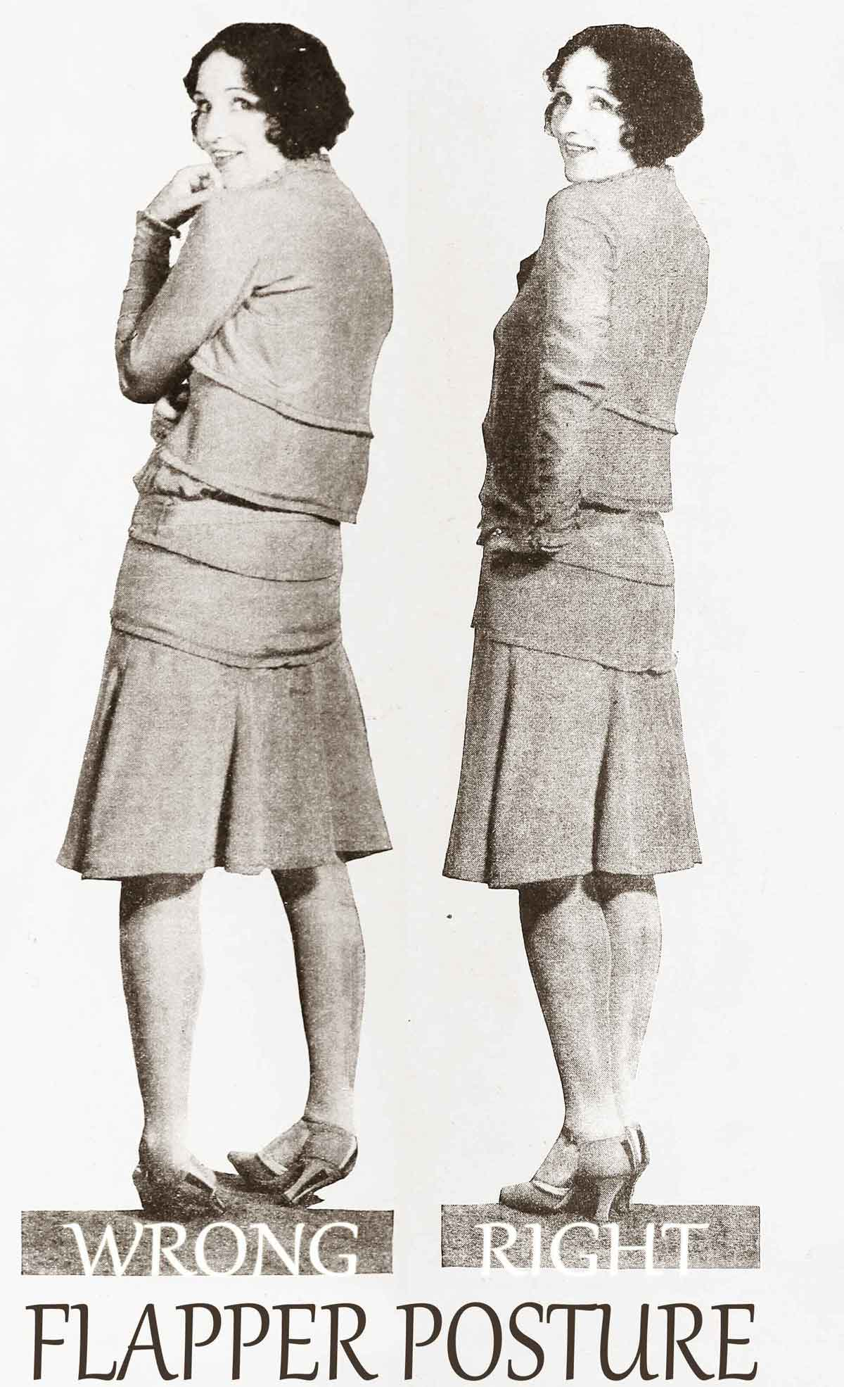 A 1920s Guide To Posture For Flappers Glamourdaze