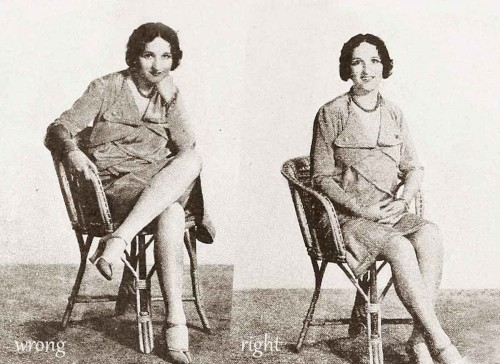 1920s-Fashion---Correct-Postures-for-a-Flapper---1928-c