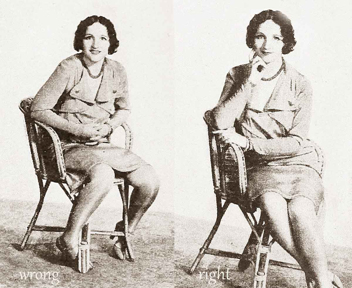 A 1920s Guide To Posture For Flappers