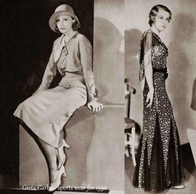 1930-Hollywood-Fashion---Sports-wear---Greta-Garbo