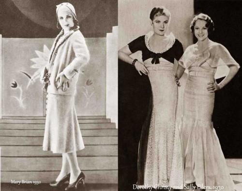 1930-Hollywood-Fashion---Summer-dresses