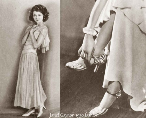 1930-Hollywood-Fashion---Summer-dresses--Janet-Gaynor