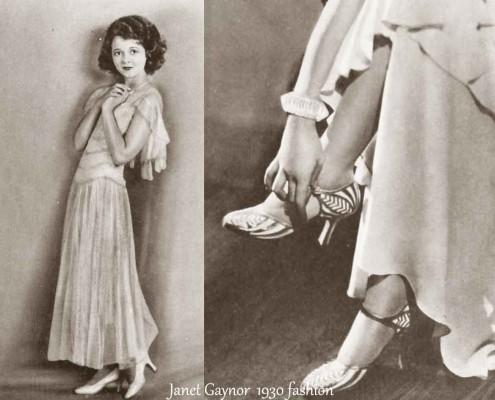 1930-Hollywood-Fashion---Summer-dresses--Janet-Gaynor