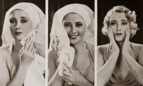 1930s-beauty---Joan-Blondells-Skincare-Routine-1932