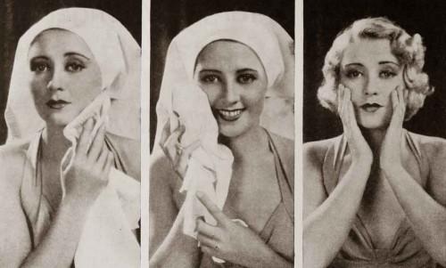 1930s-beauty---Joan-Blondells-Skincare-Routine-1932