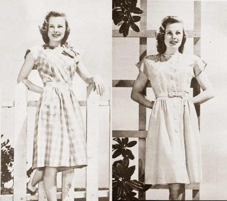 1940s-Fashion---Summer-Frocks-of-1945---June-Allyson