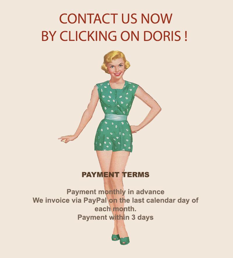 GAdvertise on a top vintage style blog - GLAMOURDAZE---Click-Doris