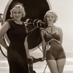 1930s Fashion – Hollywood Swimsuits – 1932