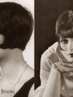 1920s-Bob-Hairstyles---Louise-Brooks-and-Clara-Bow