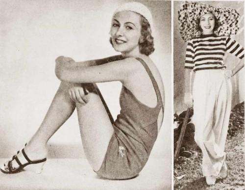 1930s-Summer-Fashion---Karen Morley August-1932
