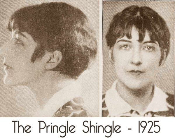Shingle hairstyle - 1925