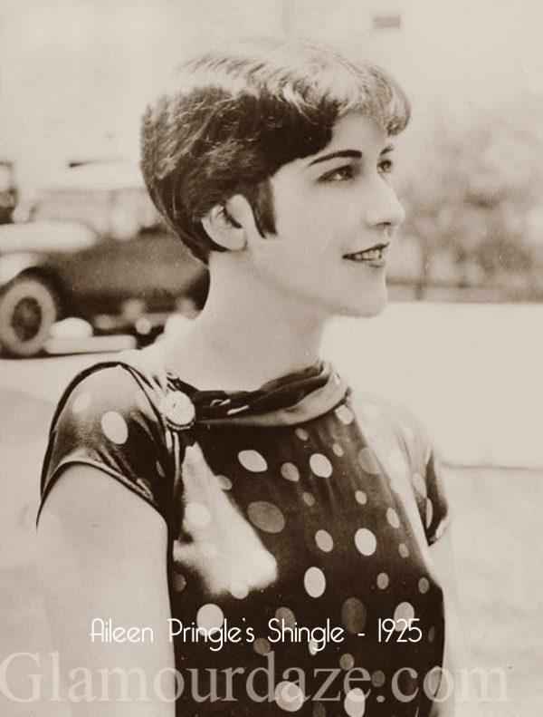 Aileen-Pringle-Shingle haircut of 1925