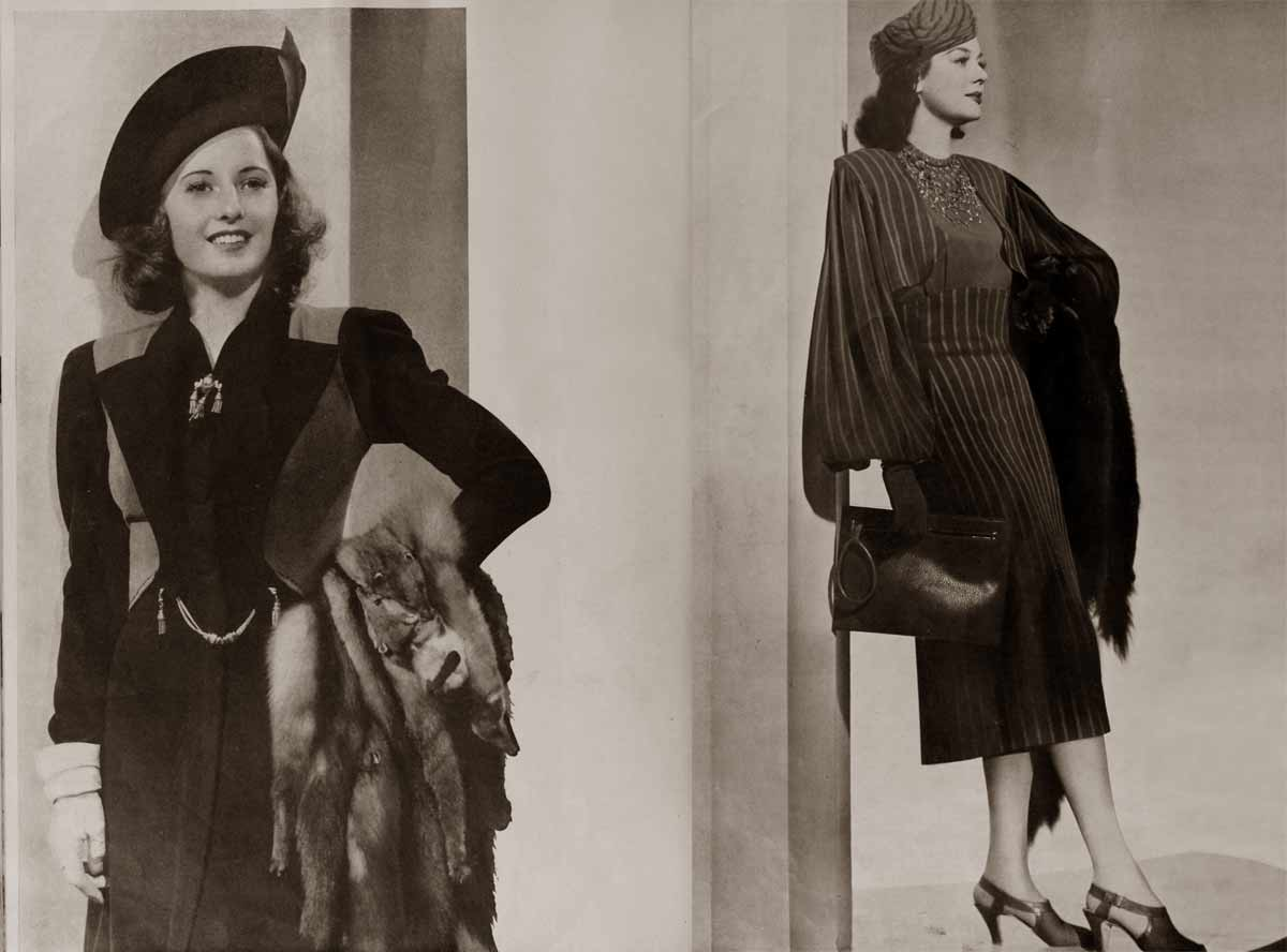 1930s Fall Fashion - Hollywood's Best Dressed