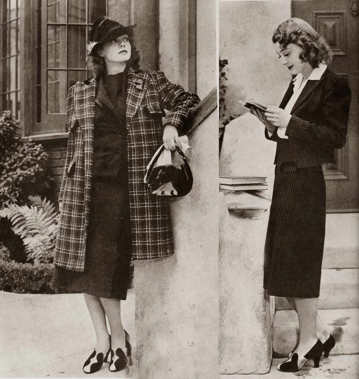 1938 student fall fashion - EllenDrew
