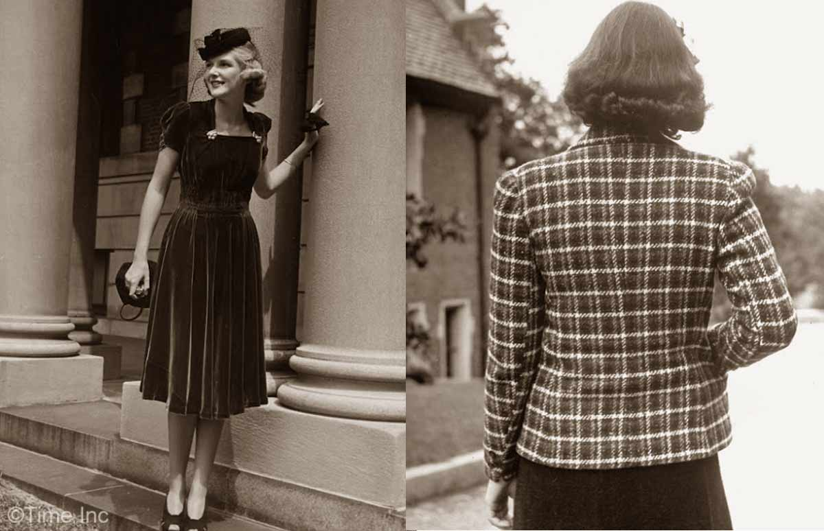 1930s fashion � fall styles for 1938 glamourdaze