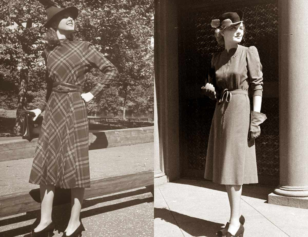 1930s Fashion Fall Styles For 1938